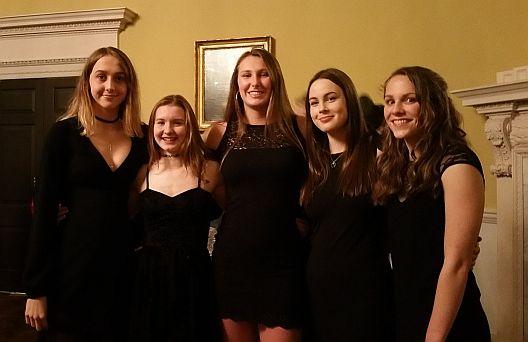 Team Bath AS girls at Bath Sports Awards 2017