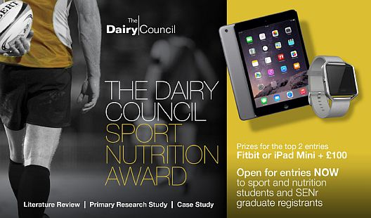 The 2017 Dairy Council Sport Nutrition Award
