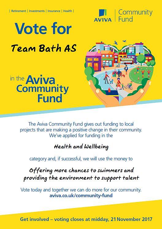 Vote for Team Bath AS