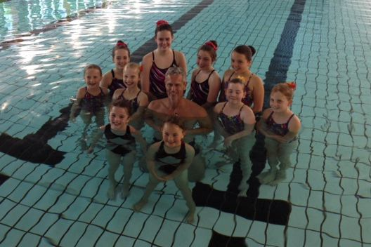 Somerset asa star performance from synchro team Taunton swimming pool station road