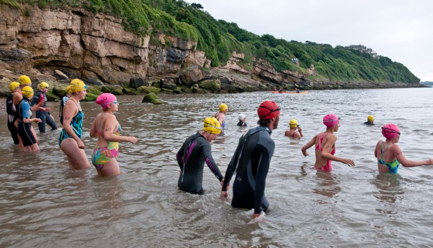Clevedon Long Swim