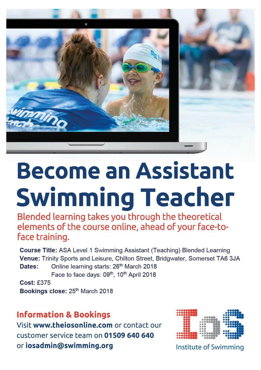 ASA Level 1 Swimming Assistant (Teaching)