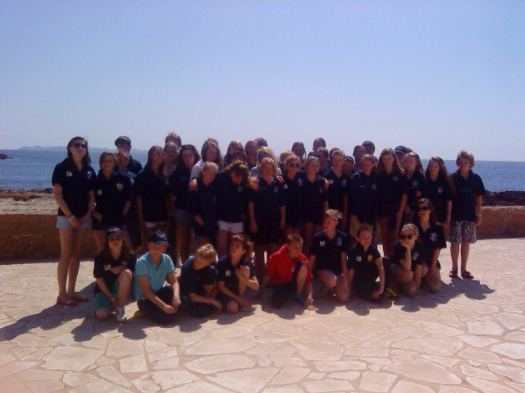 Somerset Asa Yeovil Swimmers Benefit From Overseas Training Camp
