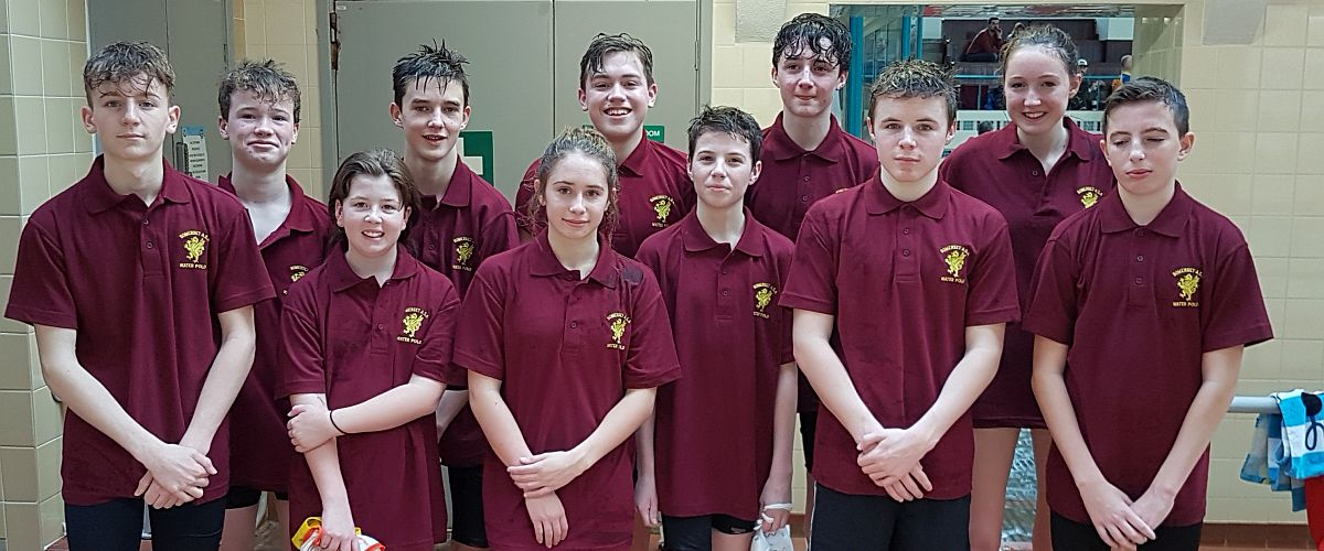 Somerset ASA U14 Water Polo Team 2016