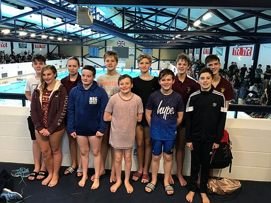 Somerset U14 Mixed Water Polo Team Jan 2018