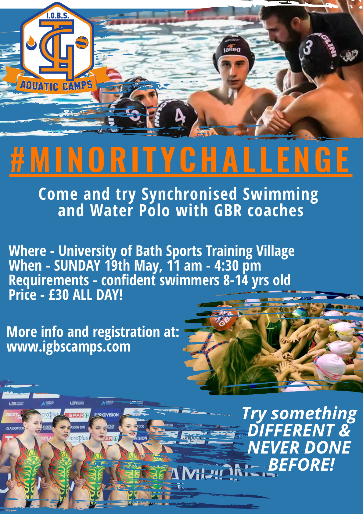 IGBS #Minority Challenge Half Term Camp