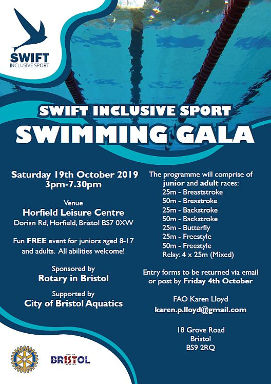 Swift Inclsuive Sport Gala 19 Oct 2019