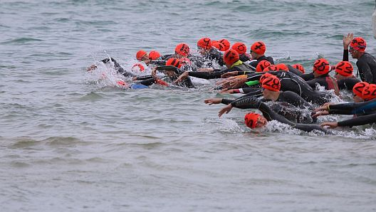Open Water Race Practice