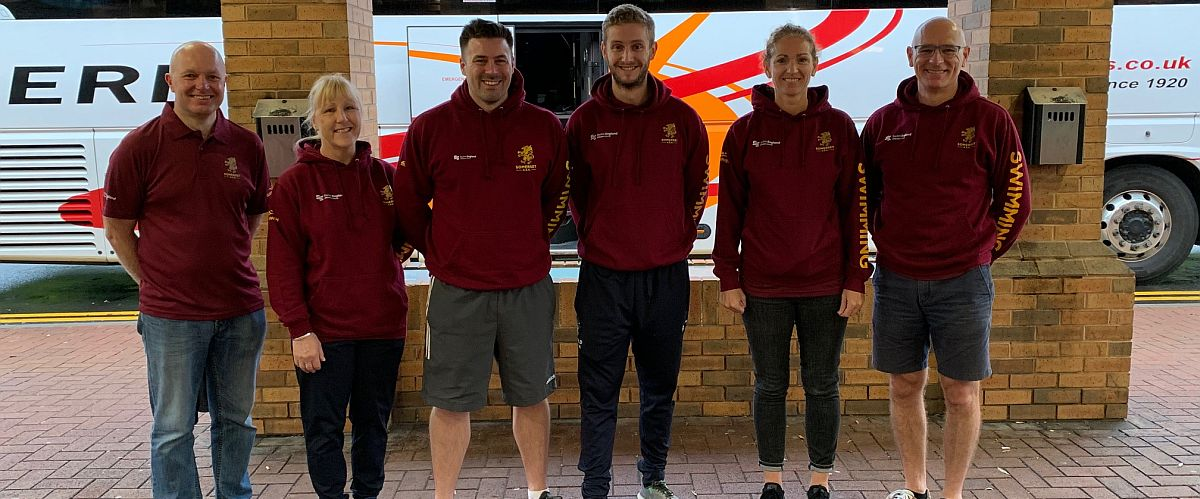 Somerset ASA Team Staff for National County Team Championships October 2019