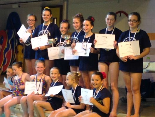 Somerset ASA Synchronised Swimming Presentations 2014