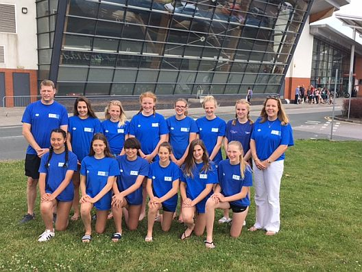 South West U16 Girls Water Polo