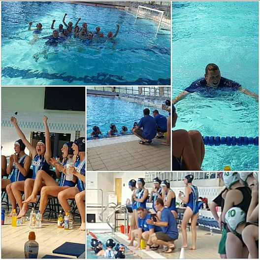 South West U16 Girls Water Polo win Divison 2 title